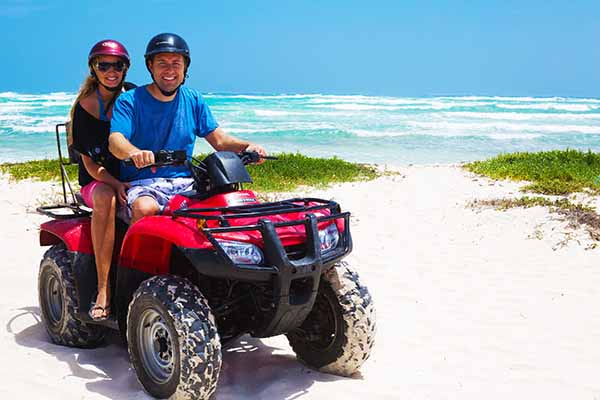 Discover Hidden beaches on our ATV Adenture