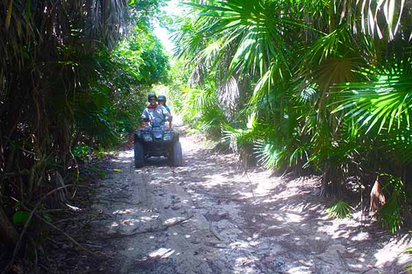The Best Off-Raod ATV tour Cozumel has to offer for an quad jungle Adventure in Cozumel