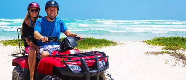 Cozumel ATV Tour reservation page and ATV Jungle Adventure Cozumel ATV SNorkel Tour reservation pagein Cozumel Mexico