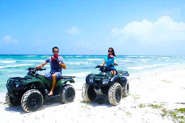 cozumel atv excursion in cozumel atv adventure snorkel tour in cozumel