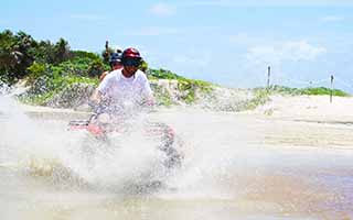 Off-Roading in Cozumel Jungle with our ATV Adventure