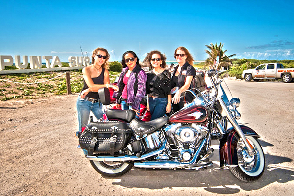 best cozumel harley davidson rental for renting a harley in cozumel mexico