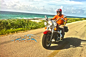 Cozumel Harley Davidson Rental to Explore Cozumel on a Harley