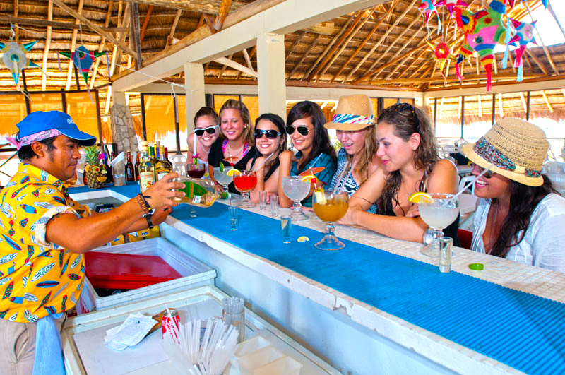 The best sights in Cozumel while bar hopping Cozumel Mexico