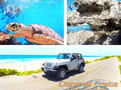 Best Cozumel Jeep Tour Thats A Custom Jeep Excursion in Cozumel Mexico