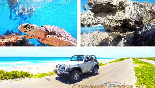 Cozumel Jeep Tour and Jeep Excursion in Cozumel Mexico