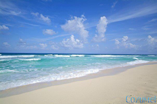 the other side of Cozumel beaches called the wild side which is the east coast of Cozumel island mexico