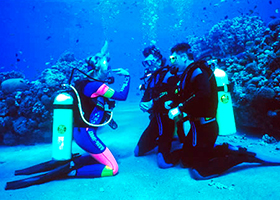 Discover Scuba Cozumel | Learn how to dive in Cozumel Mexico with our Discover Scuba Diving Course
