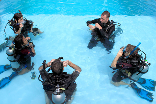 learn to dive cozumel with our cozumel diving course