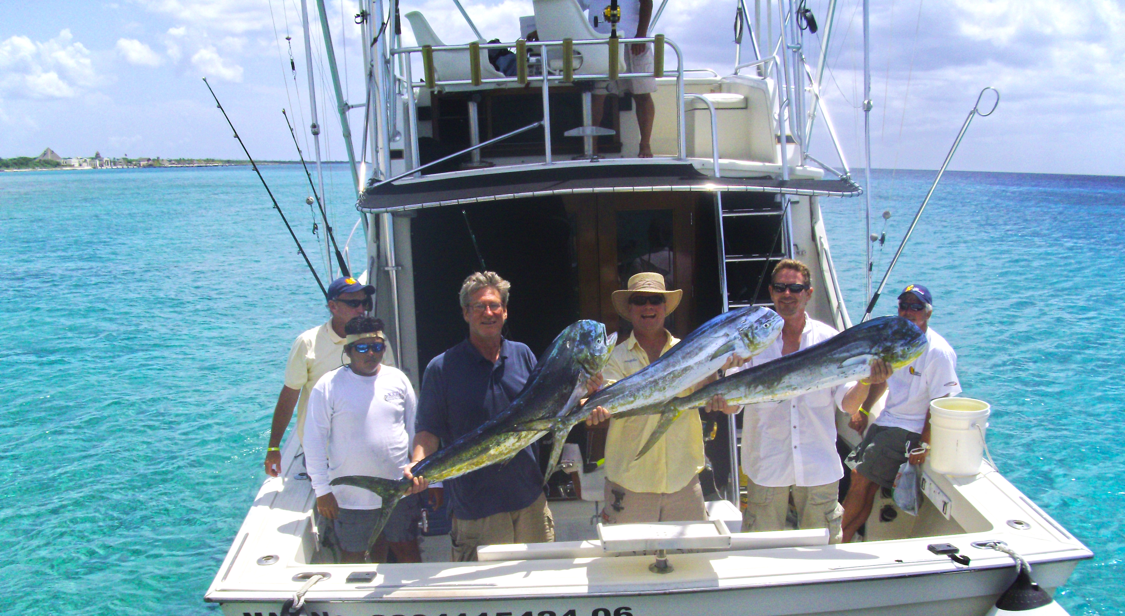 Cozumel deep sea fishing fishing in cozumel mexico for Large fishing boats